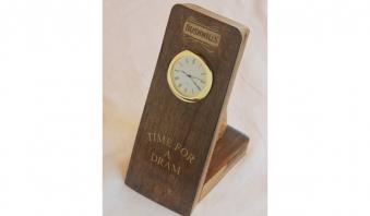 Desktop Stave Clock