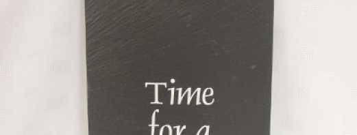 Bushmills Slate Clock