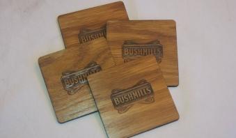 Ply Square Bushmills Coasters