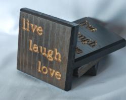 Live Laugh Love Coasters