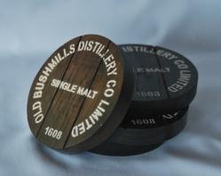 Bushmills Oak Coasters