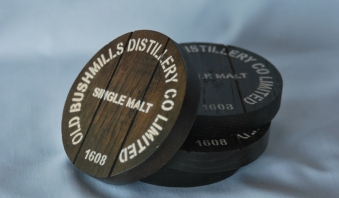 Bushmills Oak Coasters