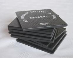 Bushmills Logo Slate Coasters