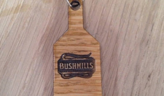 Personalised Corporate Bushmills Keyring