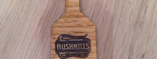 Personalised Corporate Bushmills Keyring