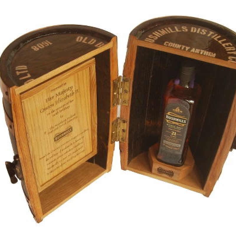 Presentation Box Hm Queen Elizabeth Ii Irish Cask