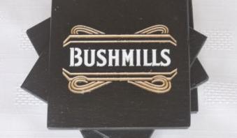 Bushmills Monkeytail Slate Coasters